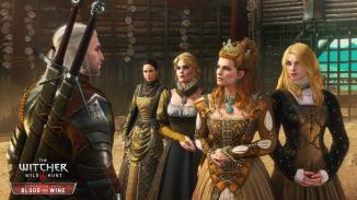 Anna Henrietta and her entourage.